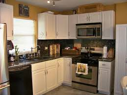 Brown And White Kitchen Cabinets Luxury Kitchen Designs With White Cabinets And Granite Countertops
