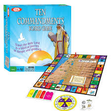 ten commandments bible game religious board games by ideal