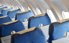 why airplane interiors are blue travel leisure