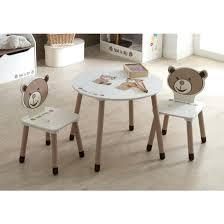 table bureau enfant bureau enfant primaire table enfant 2 chaises ted et terre de
