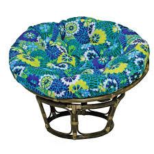 Round Chair Cushions Ideas Fascinating Pier One Papasan Cushion For Papasan Chair