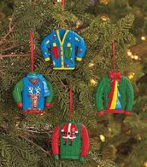 diy sweater ornaments with template crafts