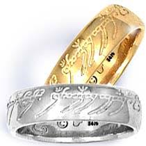 lord of the rings wedding band lord of the rings the one ring