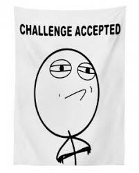 Challenge Excepted Meme - tablecloth challenge accepted meme printed table cover