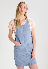 vero moda tall vmerica denim dress light blue women clothing