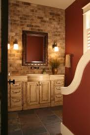 Red Bathroom Cabinets Country Red Bathroom Design Ideas U0026 Pictures Zillow Digs Zillow