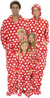 sleepytimepjs family matching polka dot fleece onesie pjs