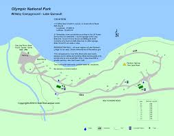 Us National Parks Map Olympic National Park Campground Maps