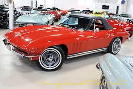 1965 corvettes for sale 1965 corvette l76 convertible ncrs top flight for sale at