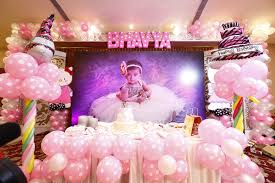 first birthday decoration ideas at home for luxury bhavya s