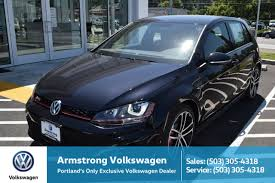 volkswagen gti blue 2017 new volkswagen golf gti gladstone or