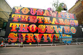 What Is A Mural by Grenfell Tower Mural Honours Victims With Words From Powerful Ben