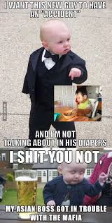 Drunk Baby Meme - drunk baby meme does not want to get in between this 9gag