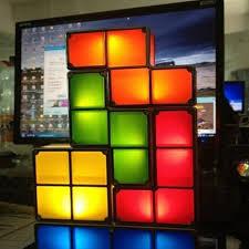 Diy Led Desk Lamp Online Shop New Diy Tetris Puzzle Light Stackable Led Desk Lamp