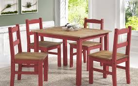 Tahoe 5 Piece Patio Dining Set - gracie oaks rodgers solid wood 5 piece dining set u0026 reviews wayfair