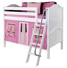 Maxtrix Low Bunk Bed W Angled Ladder TwinTwin - Maxtrix bunk bed