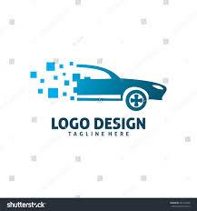 pixel car pixel car logo stock vector 661578748 shutterstock