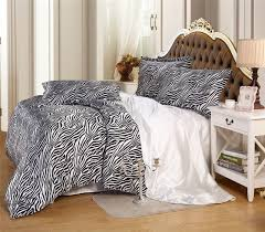 Zebra Comforter Set King Online Get Cheap Zebra Bedspread Queen Aliexpress Com Alibaba Group