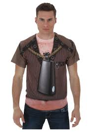 need more cowbell sublimated costume t shirt