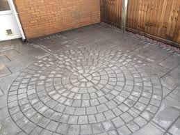 Wood Grain Stamped Concrete by Cement Patio Cost Uk Patio Outdoor Decoration