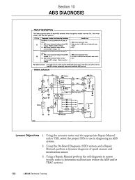 lexus abs brake warning lights brake10 abs diagnosis pdf anti lock braking system electrical