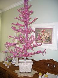 74 best pink tinsel tree images on merry