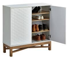 buy hygena zander 2 door shoe cabinet white at argos co uk