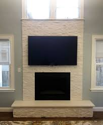furniture beauty blue grey stone fireplace designs indulges hommy