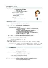 how to format a resume in word format for resume format of resume for freshers