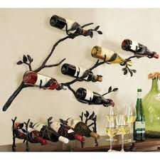 Pottery Barn Rack Pottery Barn Branch Wall Mount Wine Rack Polyvore