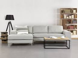 Corner Sofa With Chaise Lounge by Corner Sofa Upholstered Chaise Longue Light Grey Kiruna