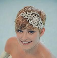 wedding headband hattie diamante wedding headband by debbie carlisle
