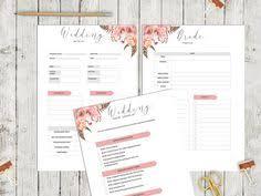 Wedding Planning Organizer Wedding Planner Organizer Wedding Book Letter By Paperscribblesco