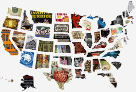 United States Road Trip Map by This Is The Ultimate Beer Road Trip According To A Data Scientist