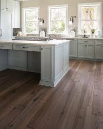 Grey Wood Floors Kitchen by Best 25 Reclaimed Wood Floors Ideas On Pinterest Fake Hardwood