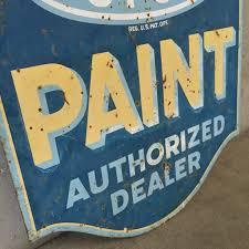 dupont paint double sided metal sign u2013 urbanamericana
