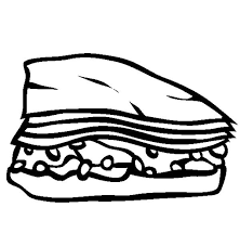 baklava junk food coloring page download u0026 print online coloring