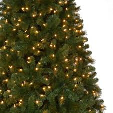 9 ft pre lit artificial christmas trees christmas lights decoration