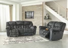 Reclining Loveseat W Console Rent To Own Ashley Furniture Capehorn Reclining Sofa And Reclining