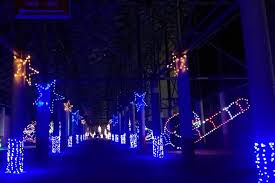 charlotte motor speedway christmas lights 2017 motor speedways light it up for the holidays