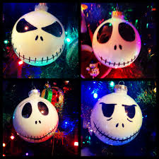 diy skellington ornaments holidays
