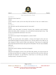 first flight ncert english chapter 1 a letter to god hail