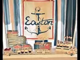 Diy Nautical Decor Easy Diy Nautical Baby Shower Decorating Ideas Youtube