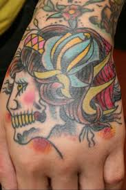 tattoo ideas for women kabuki hand tattoo models designs
