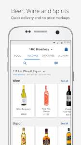 delivery com u2014 food alcohol u0026 laundry android apps on google play