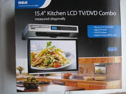 Under Kitchen Cabinet Cd Player Rca Kitchen Lcd Tv Dvd Combo 15 4