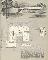 1960s ranch house plans vintage house plans 1960s house plans home plans pinterest