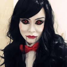 Halloween Costumes Creepy Doll Scary Makeup Halloween 25 Scary Doll Makeup Ideas