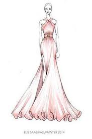 simple dress sketches designs new fashion style art