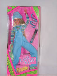 blue cool barbie barbie evaaa